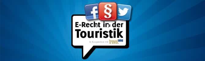 E-Recht in der Touristik