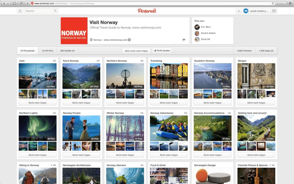 Norway Tourism bei Pinterest