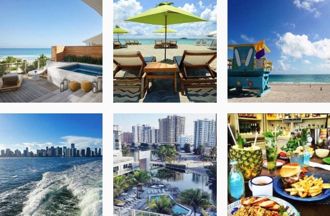 Visit Miami Instagram