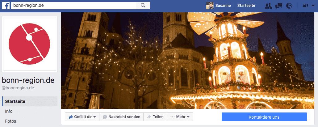 Weihnachtliches Profil Facebook Bonn