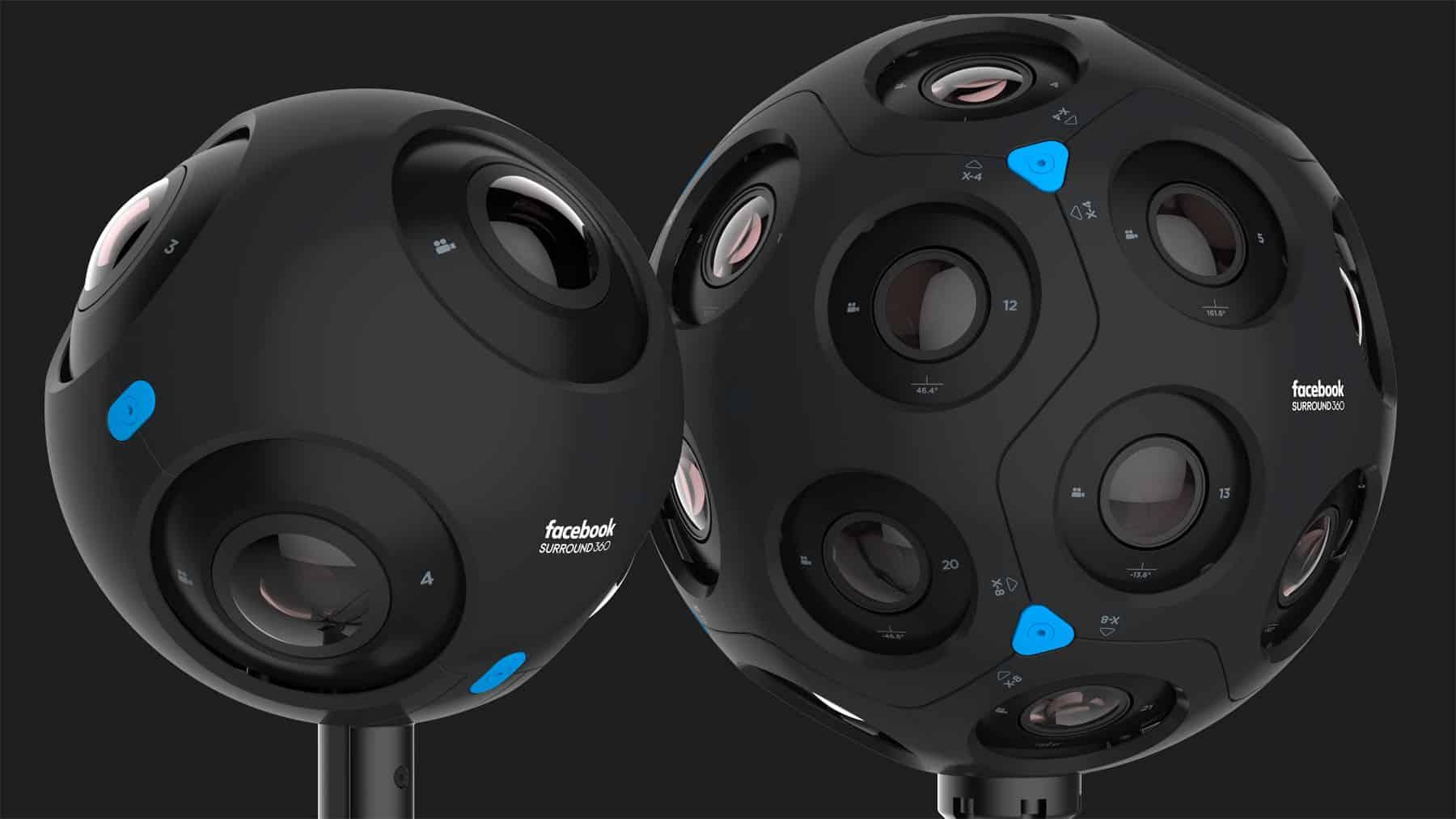 360° Kameras von Facebook